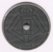 LEOPOLD III * 25 Cent 1943 Vlaams/frans * Z.Fraai/Prachtig * Nr 8211 - 1934-1945: Leopold III