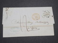 ITALIE - Lettre De Lucca Pour La France En 1853 - L 7943 - Sonstige