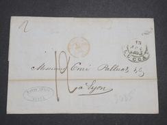 ITALIE - Lettre De Lucca Pour La France En 1853 - L 7944 - Sonstige