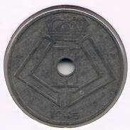 LEOPOLD III * 25 Cent 1945 Vlaams/frans * Z.Fraai * Nr 7301 - 1934-1945: Leopold III