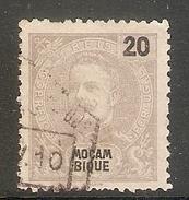 004371 Mozambique 1898 20R FU - Mozambique