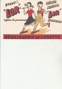 """BUVARD ILLUSTRE - REGLISSE DE LORETTE """"L'OR"""" - Sucreries & Gâteaux"""