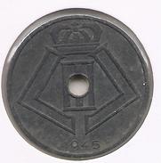 LEOPOLD III * 25 Cent 1945 Vlaams/frans * Z.Fraai/Prachtig * Nr 7738 - 1934-1945: Leopold III