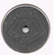 LEOPOLD III * 25 Cent 1945 Vlaams/frans * Prachtig * Nr 7302 - 1934-1945: Leopold III