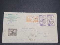 BOLIVIE - Enveloppe De La Paz Pour La France En 1939 , Affranchissement Plaisant- L 7948 - Bolivie