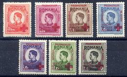 ROMANIA 1946 Internees Mail Set  MNH / **.  Michel III-IX - Franchise