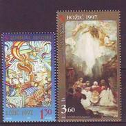 CROATIA 441-442,unused,Christmas 1997