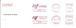 1999/2001  Comité De Savoie De Ski ;adresse:53  Avenue Des 16èmes Jeux Olympiques D'Hiver - Invierno 1992: Albertville