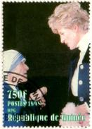 GUINEE GUINEA - 1v - Used - Princess Diana Lady Di With Mother Teresa - Theresa
