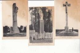 Guerre 1914 1918 Lots De 15 Cartes Sur Les Monuments Commémoratif   -  Achat Immédiat - Guerre 1914-18