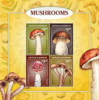 Antigua And Barbuda-2016- Fauna And Flora, Mushrooms - Champignons