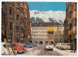 Innsbruck - Herzog-Friedrich-Strasse Mit Goldenem Dachl - Ungelaufen - Innsbruck