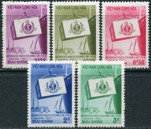Viet-Nam South 1957. Michel #140/44 VLH/Luxe. 9th Colombo Conference. (Ts10)