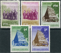 Viet-Nam South 1956. Michel #127/30 VLH/Luxe. 3rd Anniversary Of The Election Of President Ngo-Dinh-Diem. (Ts15)