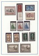 Saarland Und OPD Saarbrücken: 1947/1959, Parallel In Beiden Erhaltungen Geführte Sammlung Auf Blanko-Blät