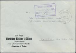 Sowjetische Zone: 1945 - 1946, Posten Von über 40 Barfrankaturen, Gute Erhaltungen Mit Besseren Sonderformen, R-Bri