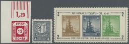 Sowjetische Zone: 1945/1948, In Den Hauptnummern Augenscheinlich überkomplette, Fast Durchgehend Postfrische Sammlu