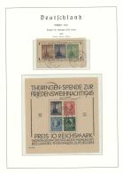 Sowjetische Zone: 1945/1949, Gestempelte Sammlung Auf Vordruckblättern, Weitgehend Komplett Bzw. überkomplett