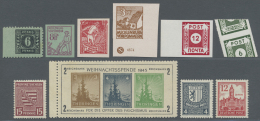 Sowjetische Zone: 1945/1949, Fast Ausschließlich Postfrische Sammlung Im Ringordner, Mit Zahlreichen Besonderheite