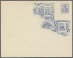 Deutsches Reich - Privatganzsachen: 1900/40, Drei Gut Gefüllte Briefalben Mit Privatganzsachenumschlägen Aus D