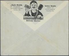 Deutsches Reich - Privatganzsachen: Ab 1890 (ca). Interessanter Posten Mit 59 Privatumschlägen KRONE/ADLER Und GERM