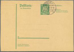 Deutsches Reich - Ganzsachen: 1925/1944. Sammlung Von 35 Postkarten, Gebraucht Oder Ungebraucht. Mit Etlichen Guten Kart