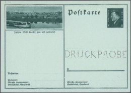 """Deutsches Reich - Ganzsachen: 1925/1944, Umfangreiche, über Weite Strecken Ungebrauchte Sammlung """"Ganzsachenkarten"""""""