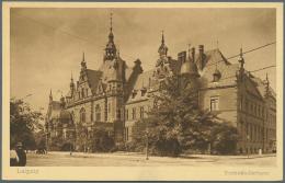 Deutsches Reich - Ganzsachen: 1921/1925, Posten Von 572 Privat-Postkarten Aus PP 50 Bis PP 81, Ungebraucht Und/oder Gebr