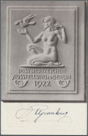 Deutsches Reich - Ganzsachen: 1919/1923, 94 Ganzsachen Inflation In Großem Variantenreichtum Mit Vielen Verschiede