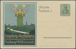 Deutsches Reich - Ganzsachen: 1902/1913, Posten Von 394 Privat-Postkarten Aus PP 27 A Bis PP 27 C 167, Ungebraucht Und/o
