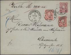 Deutsches Reich - Ganzsachen: 1882/1940, Schöne Und Gehaltvolle Sammlung Mit 63 Ganzsachen Ab Kaiserreich, Alle Mit