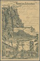 Deutsches Reich - Ganzsachen: 1875/1899, Posten Von 331 Privat-Postkarten Aus PP 1 Bis PP 10, Ungebraucht Und/oder Gebra