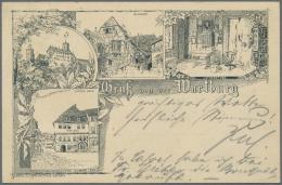 Deutsches Reich - Ganzsachen: 1873/1922, Vielseitige Partie Von Ca. 195 Gebrauchten Ganzsachenkarten Mit Schwerpunkt Pfe