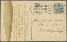 Deutsches Reich - Ganzsachen: 1872/1920 (ca.), Ca. 120 Ganzsachen-Umschläge, Kartenbriefe (dabei Viele Mit Wertzudr