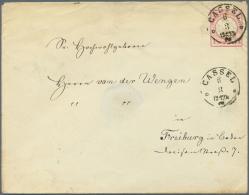 Deutsches Reich - Ganzsachen: 1872/1921. Sammlung Von 33 Postkarten, Inkl. 2 Umschlägen Und 1 Kartenbrief. Gebrauch