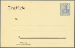 Deutsches Reich - Ganzsachen: 1872/1932, Reichhaltige Sammlung Von Ca. 440 Gebrauchten/ungebrauchten Ganzsachen, Dabei E