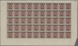 Deutsches Reich - Dienstmarken: 1920, Dienstmarken Ziffern In Raute Von Würrtemberg Jeder Wert, Auch Mi.Nr.: 55 X U