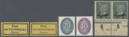 Deutsches Reich - Dienstmarken: 1874/1933, Saubere Sammlung Auf Borek-Vordrucken Ab Zwei Werten Eisenbahn-Gebührenz