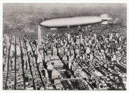 """Zeppelin LZ 126 - ZR-3 """"USS Los Angeles"""" über Manhattan 1924 - Airships"""