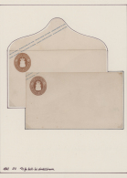 Oldenburg - Ganzsachen: 1861/64, Sammlung Von 36 Ganzsachen-Umschlägen Ungebraucht Und Gebraucht, Alle Mit Genauer