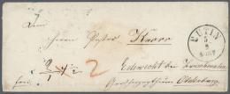 Oldenburg - Marken Und Briefe: 1800/1880, Nicht Alltäglicher Posten Von Knapp 60 Belegen Mit Einer Großen Ste