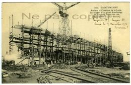 CUIRASSE FRANCE à SAINT NAZAIRE 1912 Loire-Atlantique 44 - Guerre