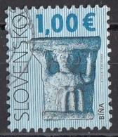 Slovacchia 2009 Sc. 567 Capitello Dalla Cattedrale Di S. Maria Vergine. Bina Used Slovensko - Slovacchia