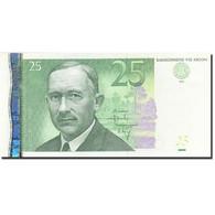 Estonia, 25 Krooni, 2002, 2002, KM:84a, NEUF - Estonie