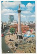 Nelson's Column Postcard Travelled 1976 B170530