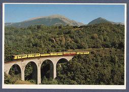 Cerdagne - Le Train Jaune Sur Le Viaduc De Via - Inutilisé - Altri