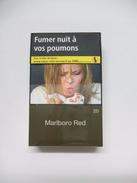 BOÎTE MARLBORO RED, étui à CIGARETTES Vide En Carton - Empty Cigarettes Boxes