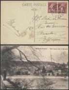 A778 France Carte De Epinal à Bruxelles  ( Belgique Belgium ) 1926 - 1906-38 Semeuse Con Cameo