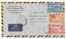 Francobolli Etiopia   Airmail Da Lucca Ad Addis Abeba   Anno 1951 - Ethiopia