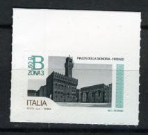 2016 -  Italia - Italy - Piazza Della Signoria In Firenze  € 4,60 -  Mint - MNH - 1946-.. République
